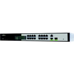 Luxul 18-Port/16 PoE+/2 Gig Uplink Smart Switch