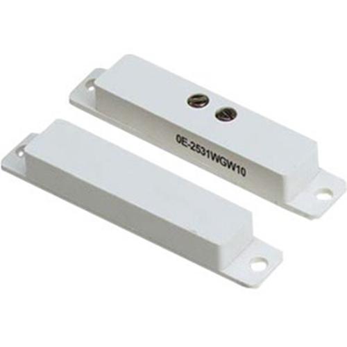 "W Box Tape/Screw Mount Magnetic Contact - N.O. - 0.90"" Gap - Closed Loop - Wireless"