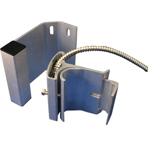 """W Box Track Mount Magnetic Contact - N.O. - 2.50"""" Gap - Closed Loop - For Door - Cable"""