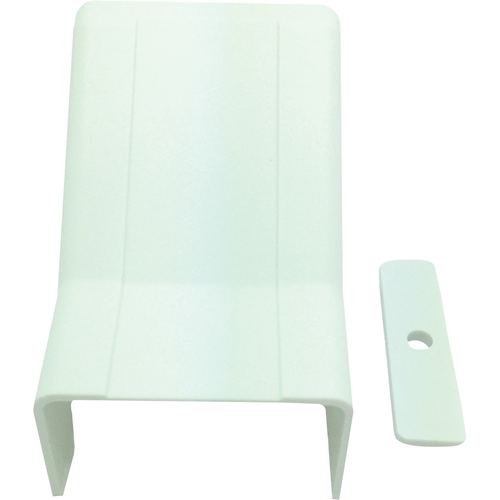 """W Box 1-1/4"""" X 3/4"""" Drop Ceiling Entry White 4 Pack"""