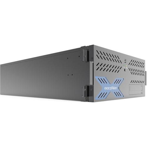 HYBRID 12TB 4U RECORDER W/ 8IP CAM LICS 64MAX & 64ANALOG AT 30FPS