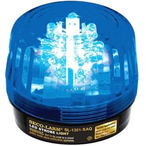 54 LED STROBE W SIREN, BLUE