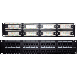 CAT6 PATCH PANEL 48 PORT VERT