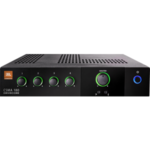 JBL Commercial CSMA 180 Amplifier - 80 W RMS - 4 Channel
