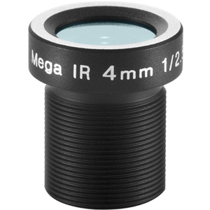 ARECONT 4MM, 1/2.5', F1.6 M12-MOUNT; FIXED IRIS