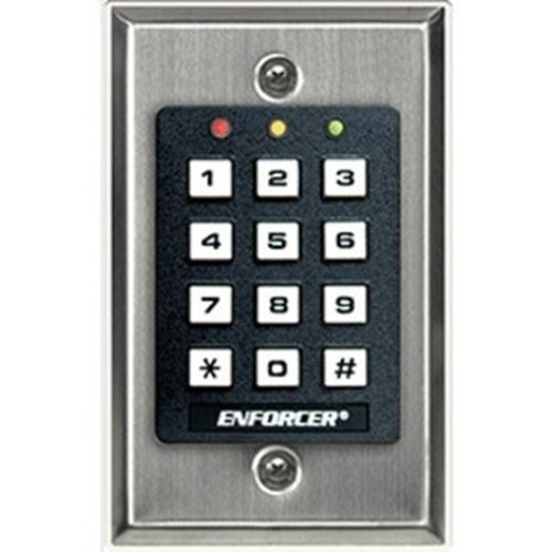 INDOOR STAND-ALONE KEYPAD, 1000 USERS