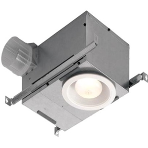 Recessed Bath Fan/Light, LED Lighting, 70 CFM, Estar