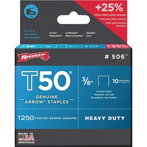 "STAPLES 3/8""- 10MM"