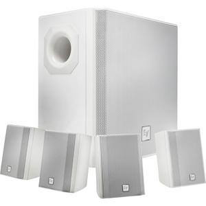 SURFACE MOUNT SUBWOOFER WHITE