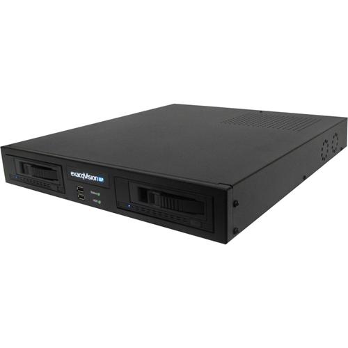 IP 1.5U RECORDER W/4IP LIC(24MAX)REMVBLEDRV 6TB