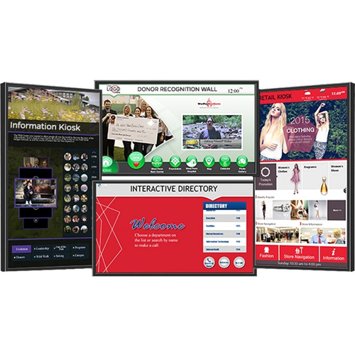 TOUCHSCREEN DIGITAL SIGN SOLUTION