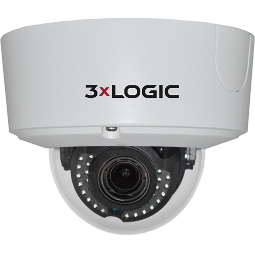 VISIX 6 MP IP CAM,S-SERIES,OUT DOME,2.8-12MM REM L