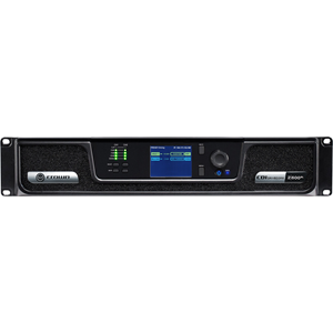 "2x600W Power Amplifier with BLU link-"" ""CROCDI4000"
