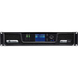 "2x300W Power Amplifier with BLU link-"" ""CROCDI2600"