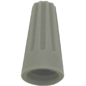 WIRE NUT GRAY 100/BOX 22-16 AWG 300 VOLT