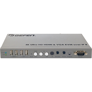 Gefen 4K Ultra HD HDMI and VGA KVM over IP - Receiver Unit