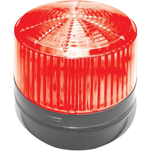 12 V DC - Visual, Audible - Surface Mount - Red