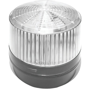 12 V DC - Visual, Audible - Surface Mount - Clear