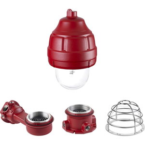 Federal Signal Ceiling Mount for Strobe Light - Red
