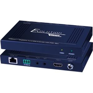 1 Input Device - 1 Output Device - 229.66 ft Range - 2 x Network (RJ-45) - 1 x HDMI In - 1 x HDMI Out - Serial Port - 4K - 4096 x 2160 - Twisted Pair - Category 6