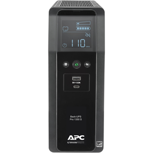 APC by Schneider Electric Back-UPS Pro BR BR1350MS 1350VA Tower UPS