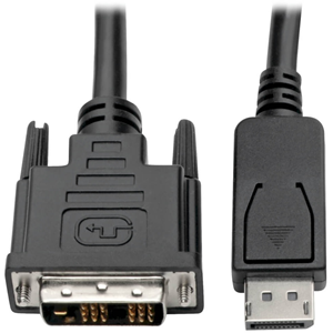 DISPLAYPORT TO DVI-D CABLE ADAPTER 3FT
