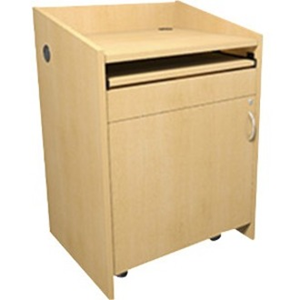 L2 LECTERN,28W25D,CONN,KNOTTED MAPLE