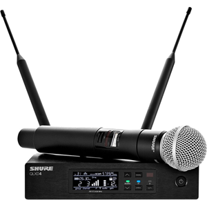 QLXD SERIES SM58 VOCAL SYSTEM, V50 FREQUENCY
