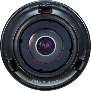 "1/2.8"" 2M CMOS with a 2.4mm fixed focal lens, FoV: H: 135.4?, V: 71.2?"