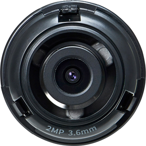 "1/2.8"" 2M CMOS with a 3.6mm fixed focal lens, FoV: H: 94.8?, V: 49.3?"