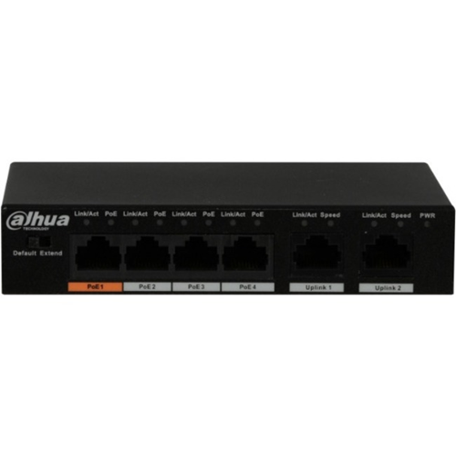 4-PORT FAST ETHERNET POE SWITCH