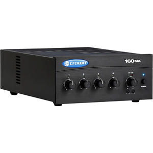Crown 160MA Amplifier - 60 W RMS - 1 Channel