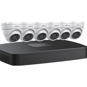 8CH NVR, 2TB, 6X4MP EYEBAL KIT