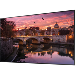 75-inch Commercial 4K (3,840 x 2,160) UHD LED LCD Display, 350 NIT. Contrast Ratio 4,000:1. Response Time 8ms. Brightness 350 nits. Viewing Angle 178/178. Pixel Pitch 0.2451 x 0.2451 (mm).