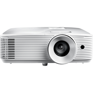 """""""4,500 ANSI lumens; 50,000:1 contrast ratio; 16:9 (native), 4:3, LBX, and auto-compatible aspect ratios; DLP technology by Tex"""