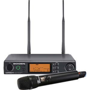 Microphone Handheld System includes Microphone Clip Receiver & Batteries