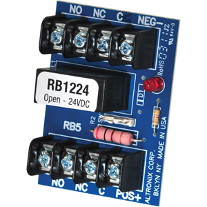 ALT RELAY DPDT 12 OR24VDC