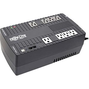 Tripp Lite UPS 550VA 300W Desktop Battery Back Up AVR Compact 120V USB RJ11 50/60Hz