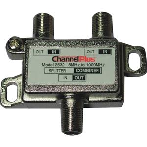 Channel Plus 2532 Bi-Directional Splitters / Combiners