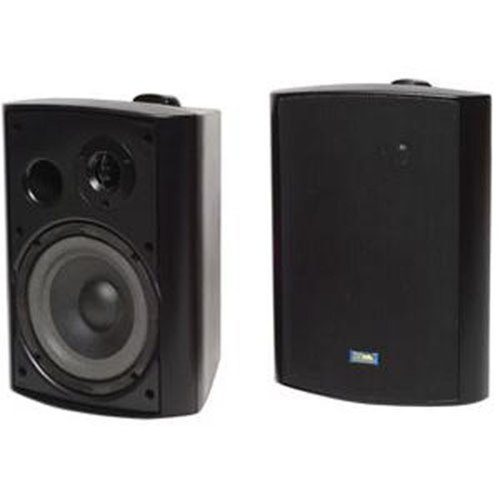 TIC ASP120B Speaker System - 60 W RMS - Black, Aluminum
