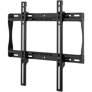 """Universal Flat Wall Mount for 22"""" to 49"""" Screens (Black) Fits virtually any 22""""-49"""" flat-panel screen Mounts to 1 or 2 wood studs up to 16"""" apart, concrete, cinder block or metal stud with metal stud fasteners Ultra-slim design holds screen 1.18"""""