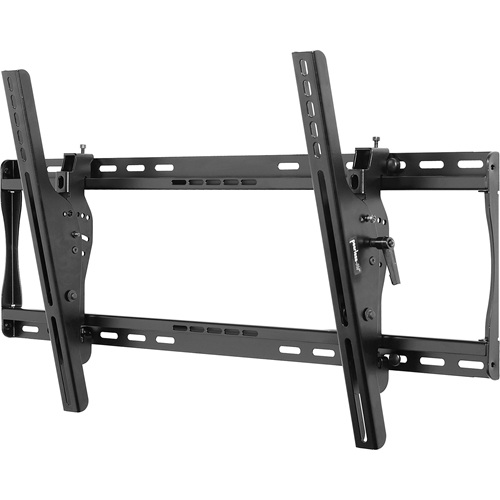 """""""Universal Tilt Wall Mount For 30"""""""" to 50"""""""" Screens (Black) Fits virtually any 30""""""""-50"""""""" flat-panel screen Mounts to 1 or 2 wood studs, concrete, cinder block or 2 metal studs with metal stud fasteners Universal brackets easily hook onto the mount bars f"""