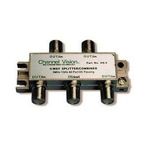 Channel Vision HS-4 4-Way PCB Based Splitters/Combiner
