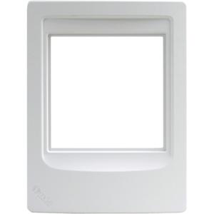 M & S Systems DMCFR Retrofit Standard Remote Room Station Plate for DMC3-4