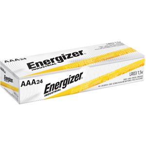 Energizer Industrial Alkaline Battery, AAA, 24/BX