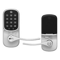 Yale Assure Lever Keypad, Z-Wave Plus, Satin Nickel