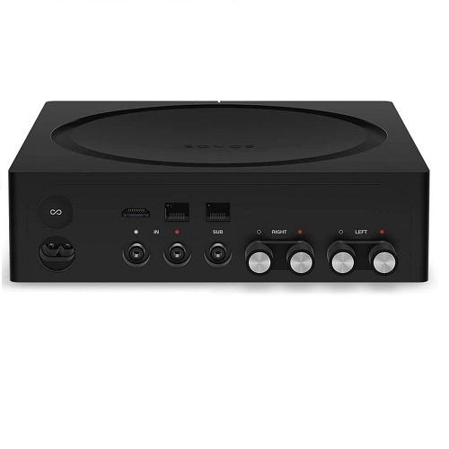 AMP W/ 125 WATTS PER CHANNEL BLACK