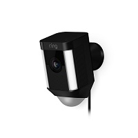 Ring Spotlight Cam Wired X - Black