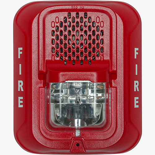 Low Frequency Sounder Strobe, Red Wall