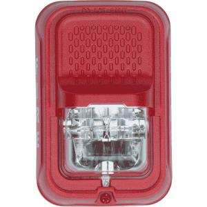 Strobe Red Wall Compact